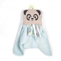 Doudou Dodyz Bleu Panda