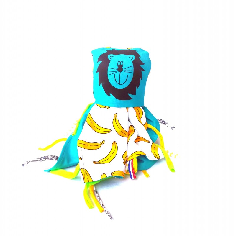 Baby Comforter Catzy Yellow