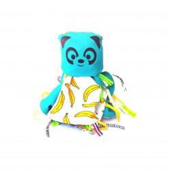 Doudou Couverture Banane Panda